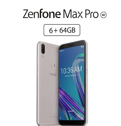 Asus Zenfone Max Pro (M1) 6GB/64GB, Only $229 99